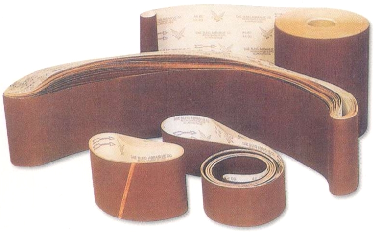 Abrasive Cloth Roll & Belt, Flexible types