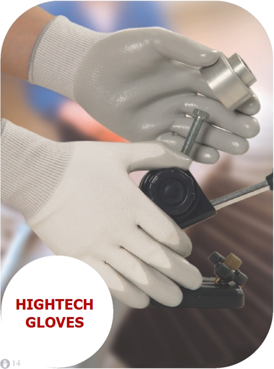 Cut Resistance Glove with Nitrile Coating