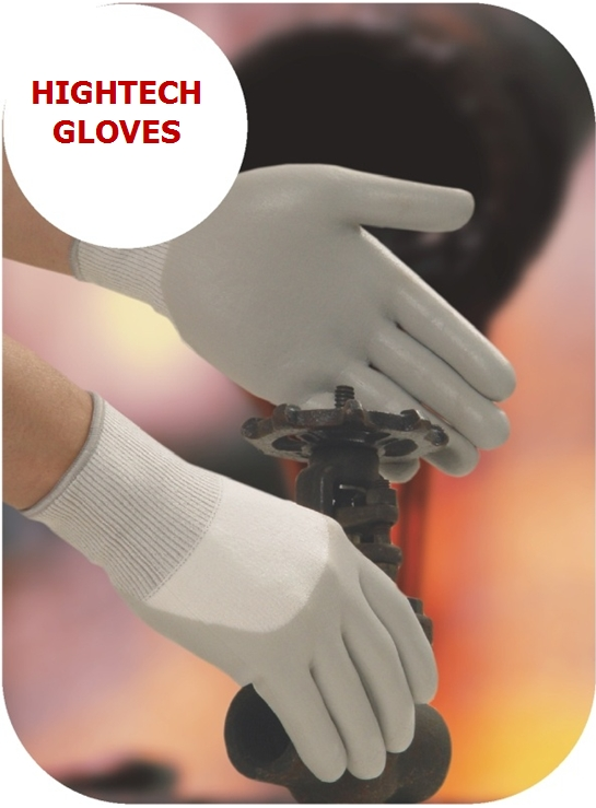 Cut Resistance Glove with Foam Nitrile coating